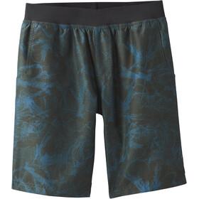 Prana Mojo Spodnie krótkie Mężczyźni, nori green foliage
